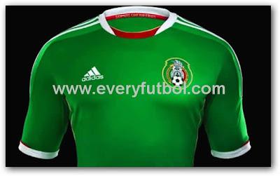 Nueva Camiseta De La Seleccion Mexico