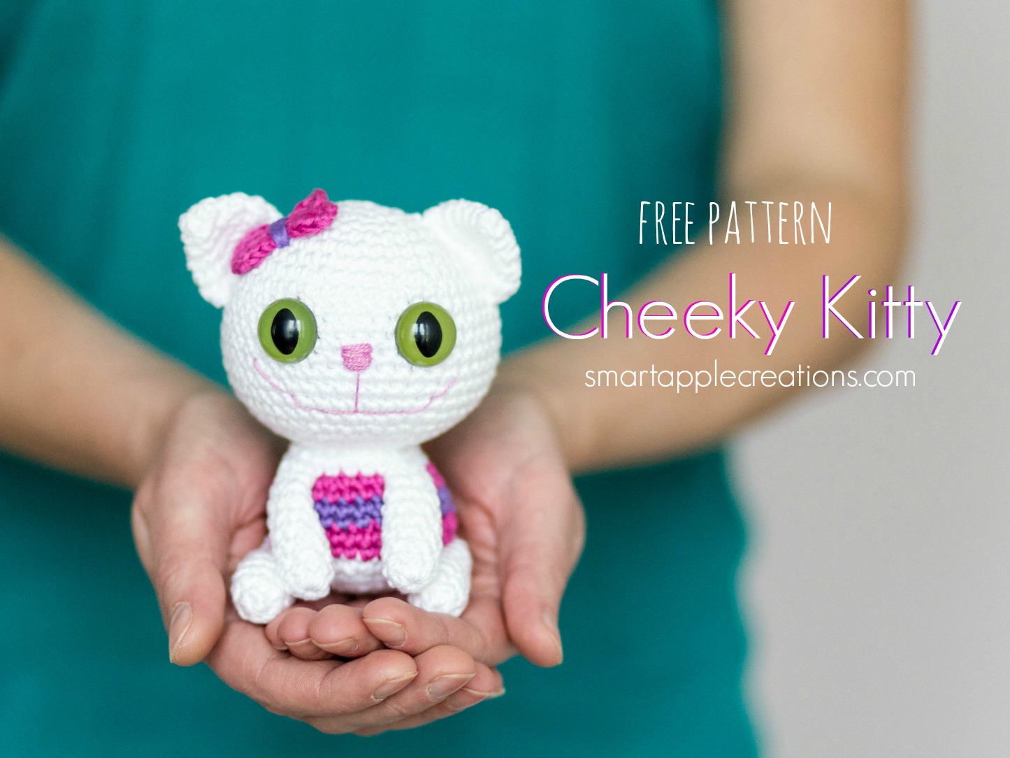 Free Little Kitty Cat Amigurumi Crochet Pattern And Tutorial : Smartapple Creations - amigurumi and crochet
