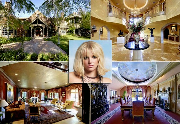 Inside the celebrity homes