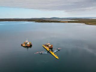 Orbital Marine Power: La turbina mareomotriz más poderosa del mundo.