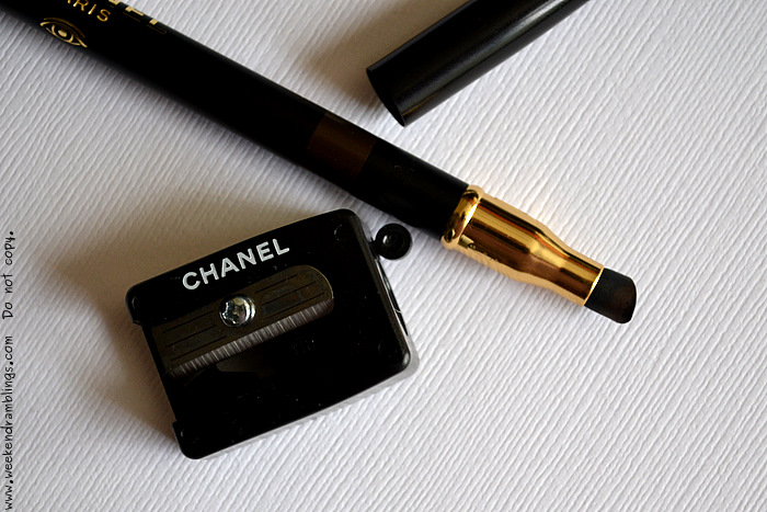 Chanel Makeup Summer 2012 Brun Intense Eyeliner Beauty Blog Swatches Looks FOTD EOTD Crayon Yeux Precision