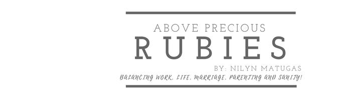ABOVE PRECIOUS RUBIES