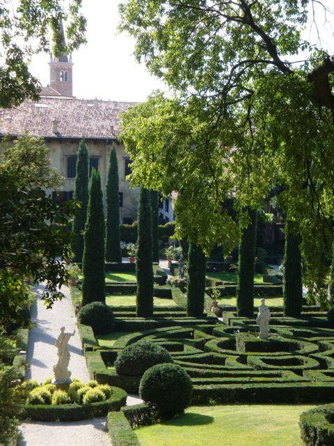 Venise c t jardin le jardin giusti verona - Jardin a l italienne ...