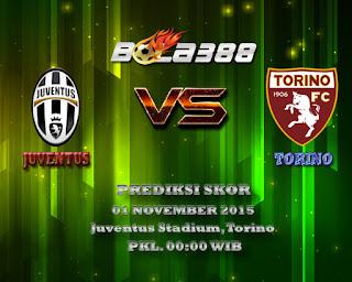 Agen Sbobet Terpercaya : Prediksi Skor Juventus Vs Torino 1 November 2015