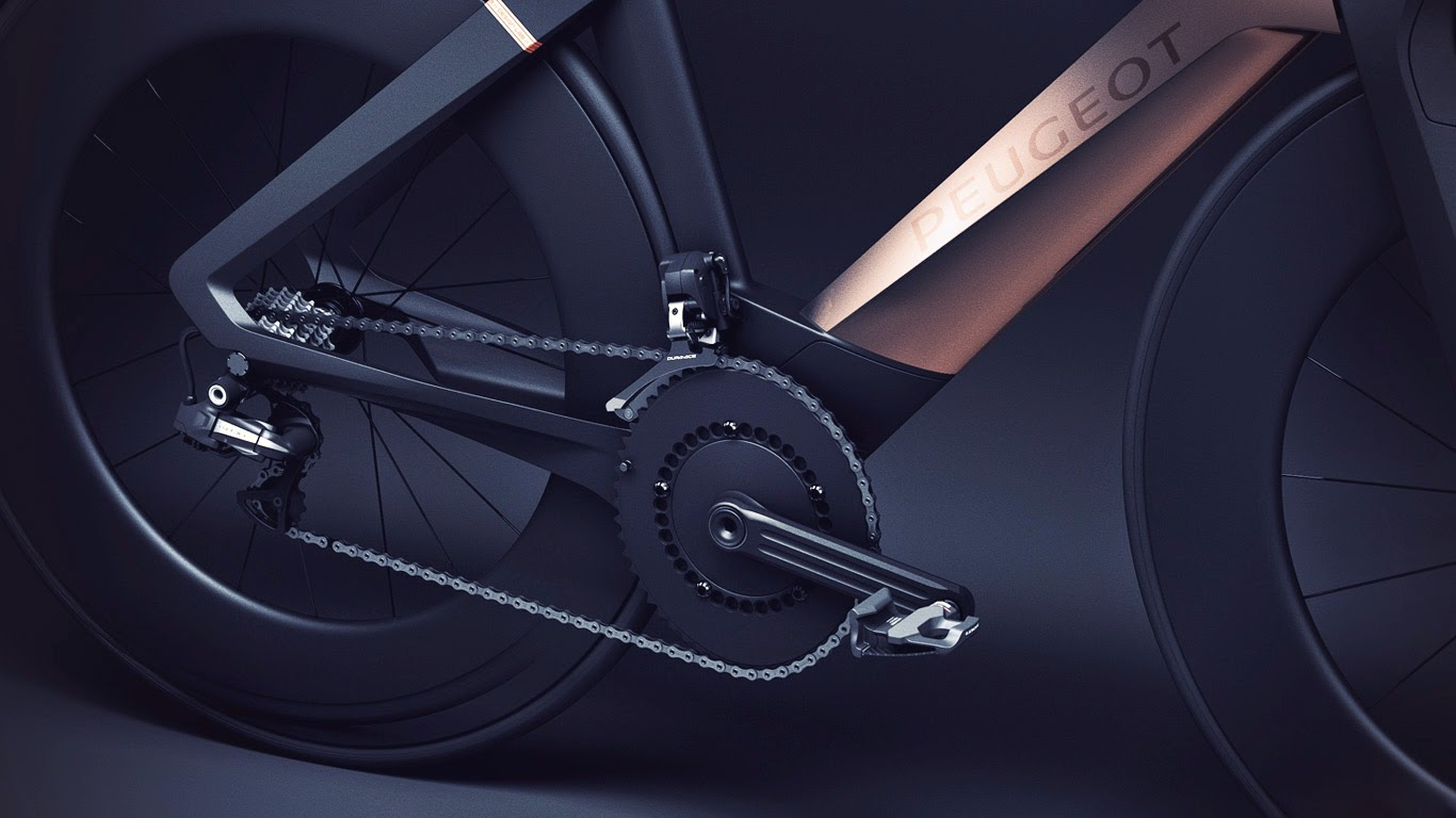 okokno : peugeot onyx concept bicycle
