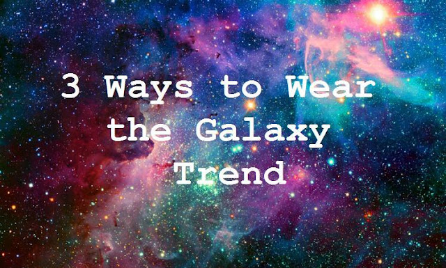 spring outfit inspiration how to wear the galaxy trend galaxy leggings
