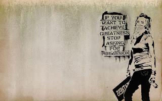 Graffiti Achievement Quote