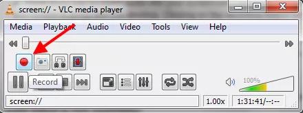 VLC मीडिया प्लेयर से डेस्कटॉप की विडियो बनायें
