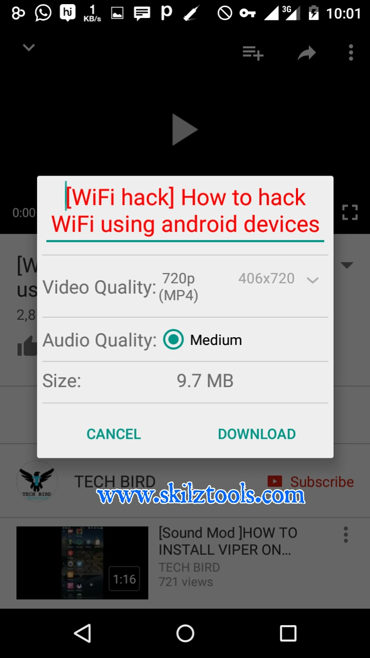 how to download youtube video using televzr
