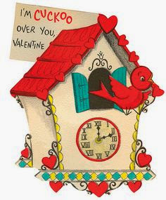 Valentines Day Vintage Cards Countdown
