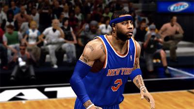NBA 2K13 Kenyon Martin Realistic Face Patch