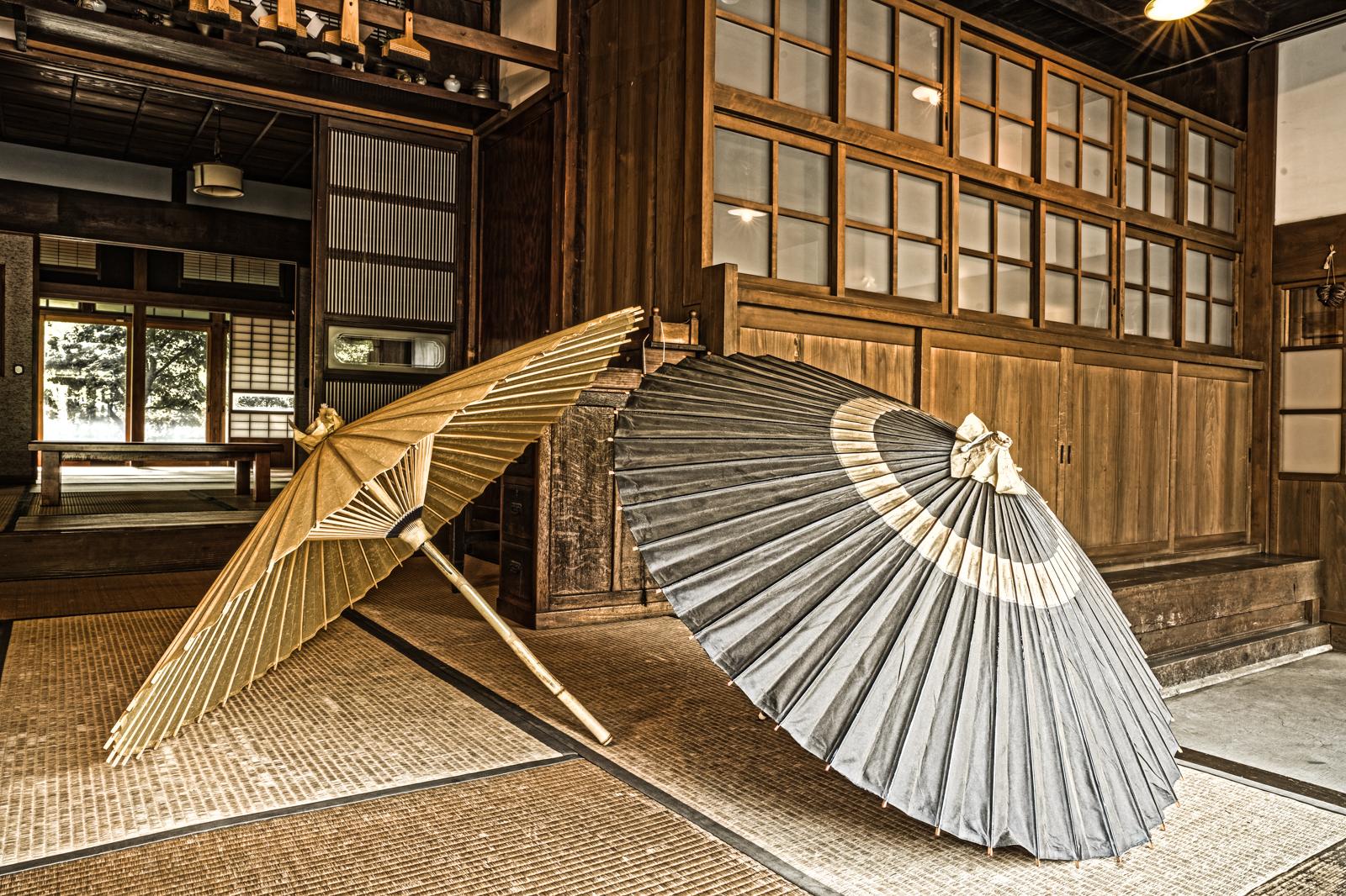 江戸東京たてもの園、川野商店(和傘問屋)