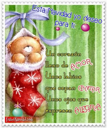 Tarjetas navide as para amar imagenes de amor bonitas - Postales navidenas bonitas ...