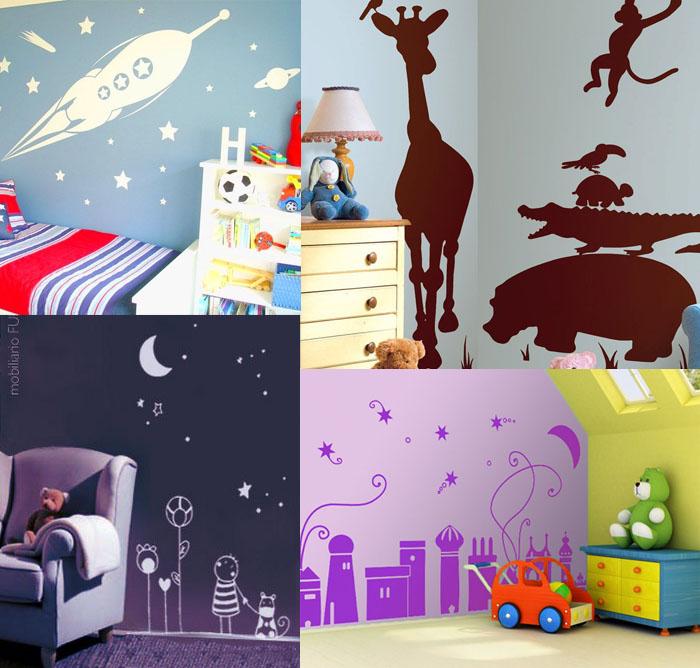 Vinilos con arte habitaciones infantiles so adas - Vinilos con arte ...