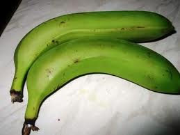Banana is common food in amazon river forest