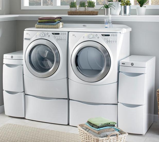 Quiroz h bitat y arquitectura ahorra agua y luz al - Armario para lavadora y secadora ...