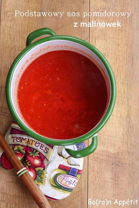 Sos ze świeżych pomidorów