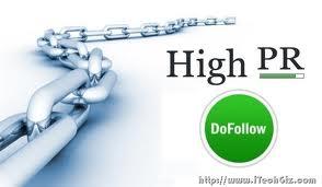Dofollow Blogs High PageRank