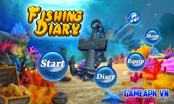 Fishing Diary v1.1.6 Mod (Unlimited Coins) cho Android