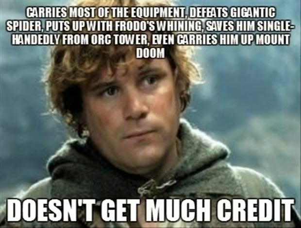 funny lord of the rings Sam lord of the rings memes clean meme central
