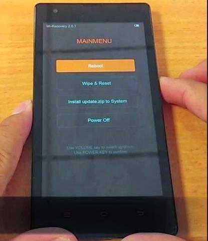 Mudah!!! Cara Reset Pabrik Xiaomi Redmi 1S Untuk Tingkatkan Performa