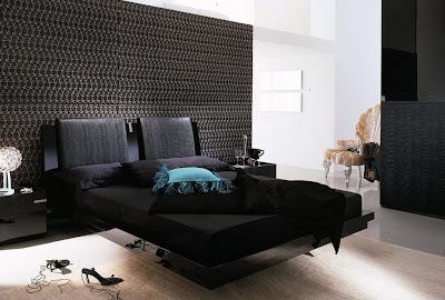Habitación blanco negro