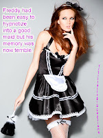 Sissy maid Freddy can't remember anything except to be a good girl