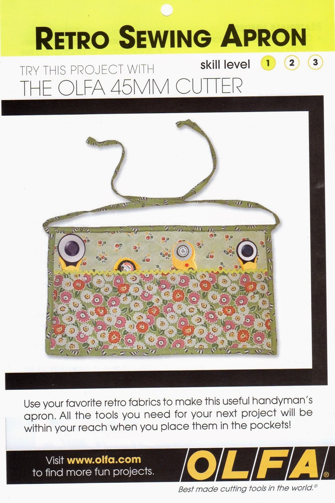 rotary cutter apron, Olfa