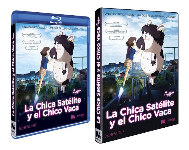 A la venta 'La chica satélite y el chico vaca' en DVD y Blu-ray