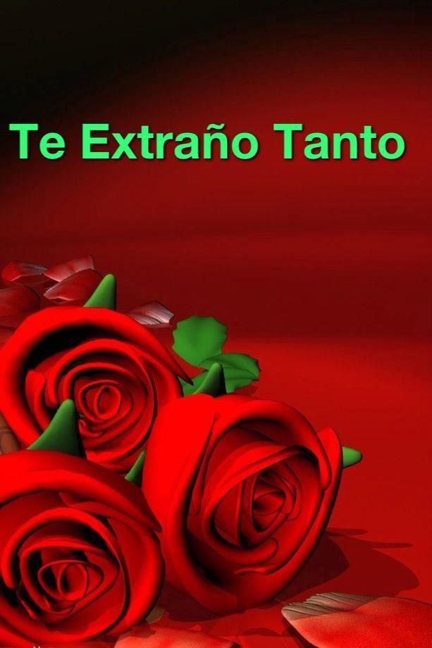 te extra u00f1o tanto letras con rosas