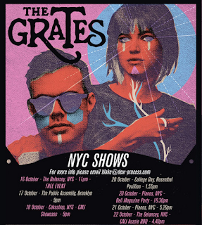 The Grates Play Seven CMJ Shows Next Week