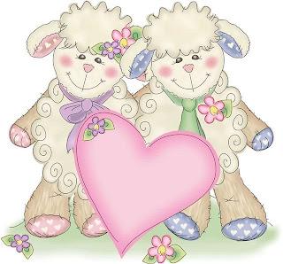 Imagens para decoupage de ovelhinhas