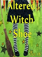 Altered Witch Shoe Challenge