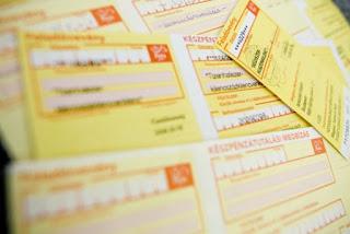 Adózás és zámlakiállítással foglalkozó szakirodalim