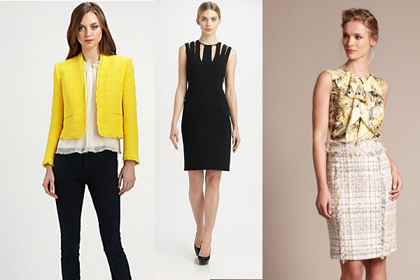Grace Intemporelle by Natalia: Power Dressing. Alice+Olivia, Akris & Carolina Herrera