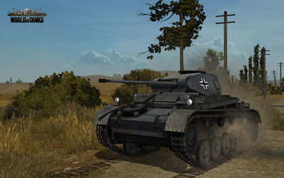 Screenshot czołgu w grze World of Tanks