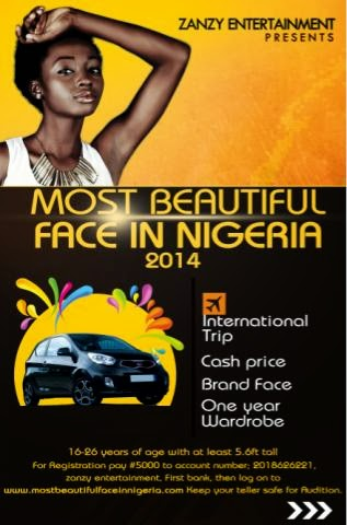 MOST BEAUTIFUL FACE IN NIGERIA