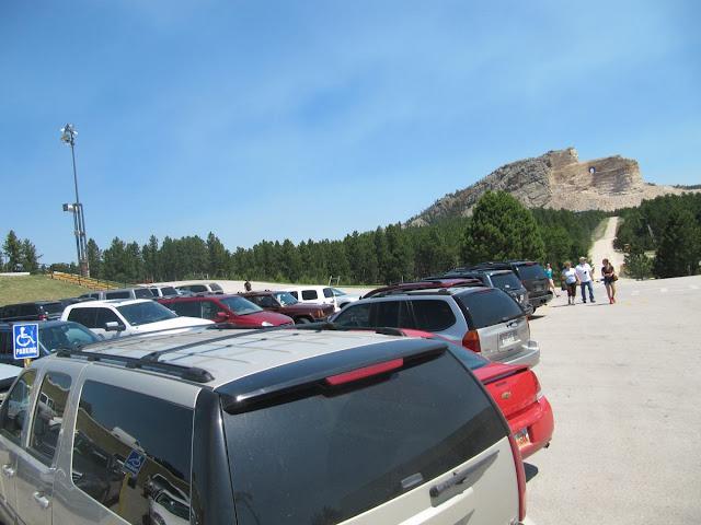 Crazy horse memorial parking