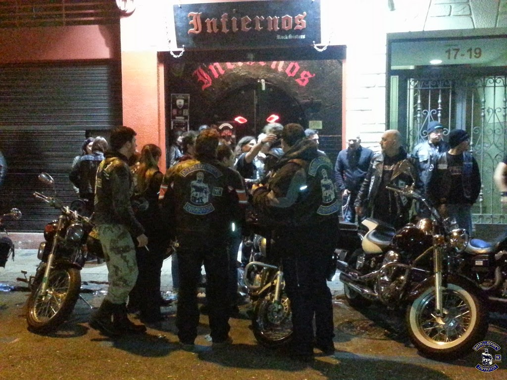 Presentacion Sleepwalkers MC Zaragoza Prospect Chapter