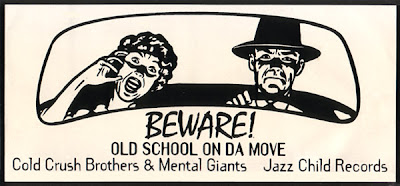 Cold Crush Brothers / Mental Giants – Can't Do Me Nada / Hustler's Hymn (VLS) (1996) (256 kbps)