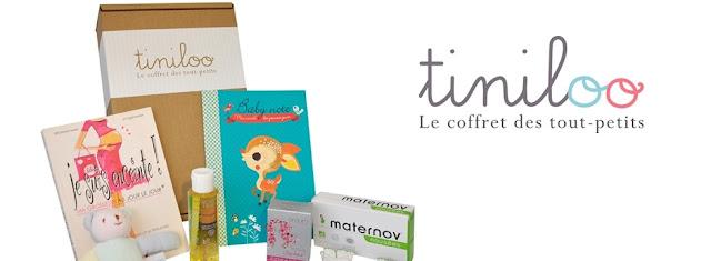 10 coffrets Tiniloo pour bien grandir : de la future maman aux 9 ans de l'enfant