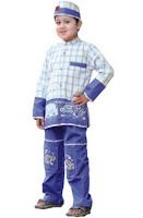 model terbaru baju anak muslim koko