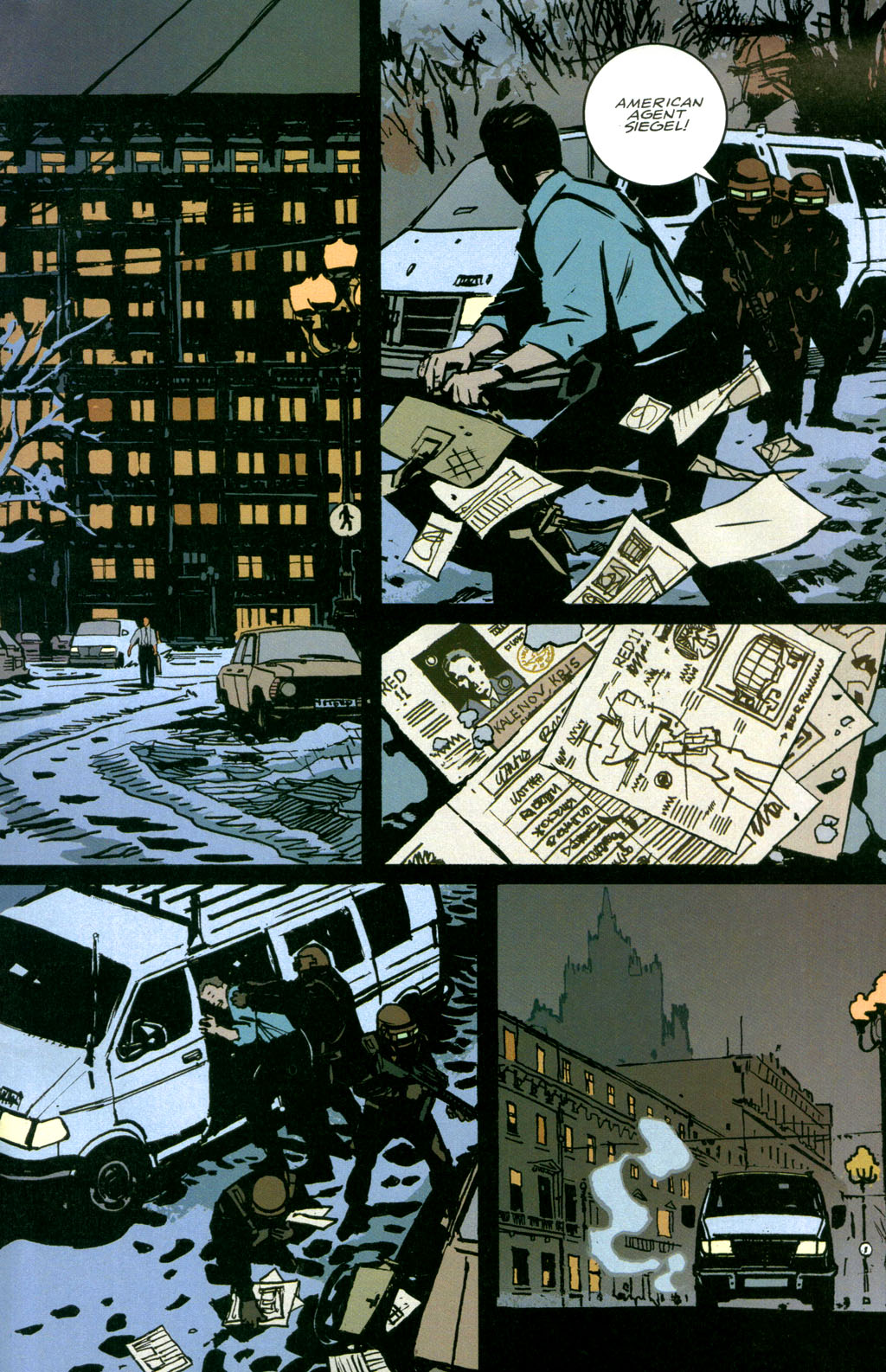 Read online The Winter Men comic -  Issue #1 - 30