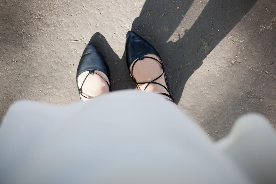 minimalizm styl minimalistyczny buty w szpic