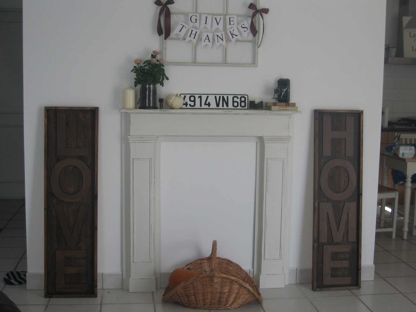 The Way We Live Now Faux Diy Fireplace