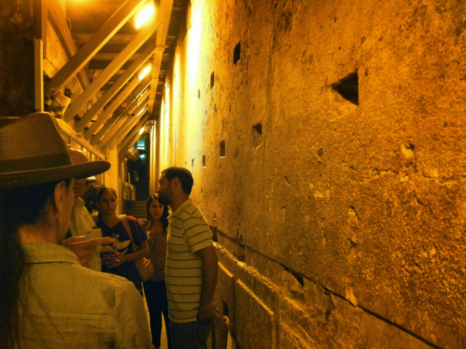 Love For His People: Western Wall Tunnel - Jerusalem