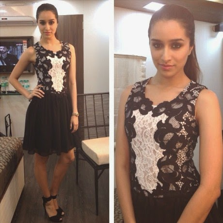 shraddha kapoor short skirt