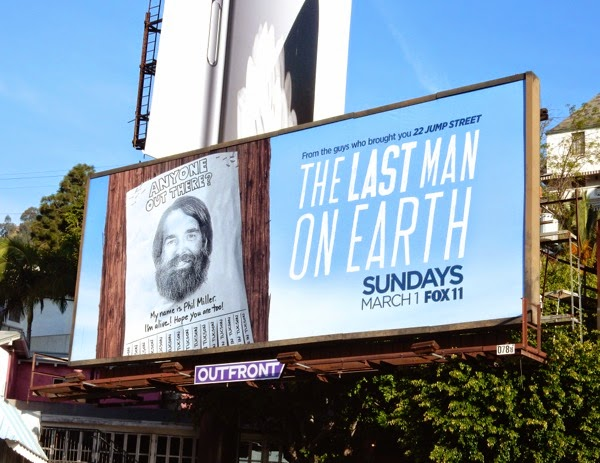 Last Man On Earth series premiere billboard