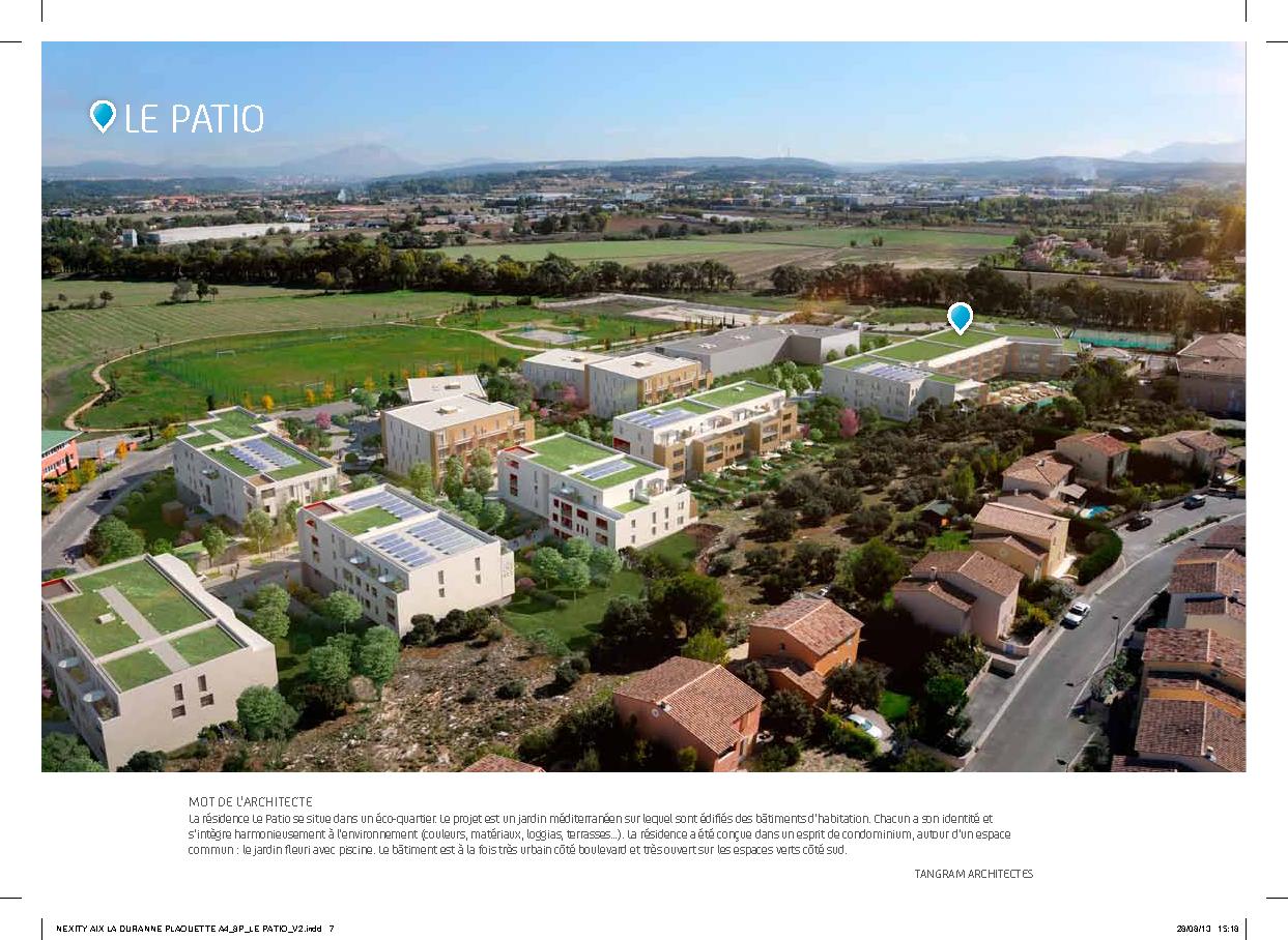 Immobilier pour les particuliers - Terrasse piscine hors terre aixen provence ...