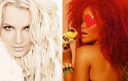 S&M Rihanna Britney Spears